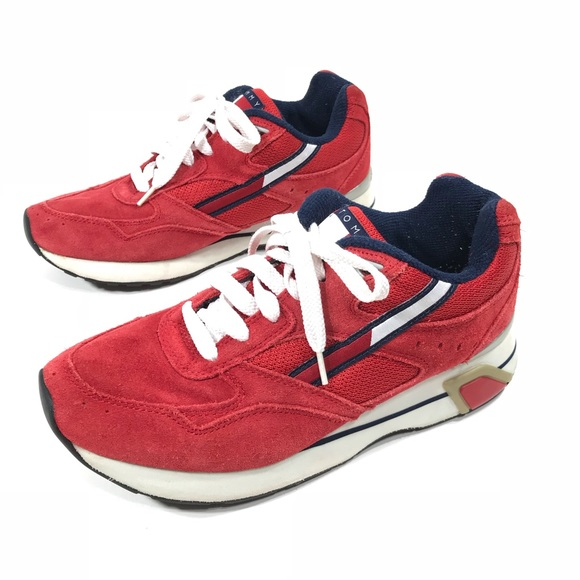 2e41f249f Vintage 90s Tommy Hilfiger Athletic Running Shoes.  M_5c5b45d45c44526936b76729